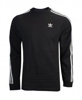 Imagem - Blusão Moletom Adidas 3-Stripes Ls T Masculino cód: 050869