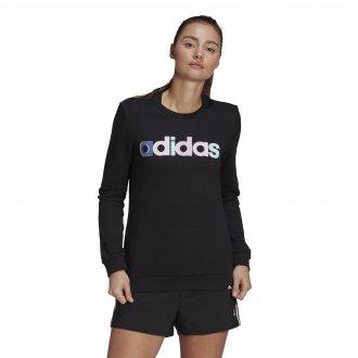 Imagem - Blusão Moletom Adidas Essentials Linear Feminino cód: 059953