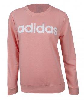 Imagem - Blusão Moletom Adidas Essentials Linear Feminino cód: 056459