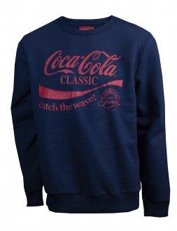 Imagem - Blusão Moletom Coca Cola Estampado Masculino cód: 051424