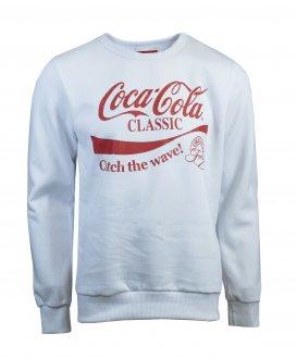 Imagem - Blusão Moletom Coca Cola Estampado Masculino cód: 051430