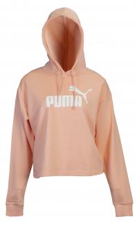 Imagem - Blusão Cropped Moletom Puma Essentials+Hoody Feminino cód: 050820