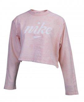 Imagem - Blusão Moletom Nike  Nsw Crew Crop Wsh Feminino cód: 051026