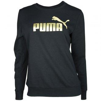 Imagem - Blusão Moletom Puma Ess+ Metallic Logo Crew Feminino cód: 060631