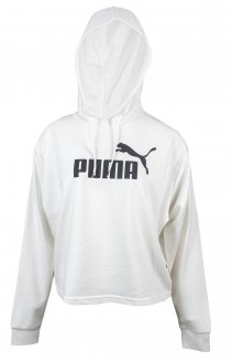 Imagem - Blusão Cropped Moletom Puma Essentials+Hoody Feminino cód: 056387