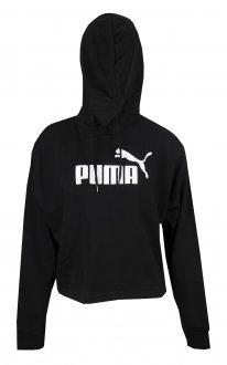 Imagem - Blusão Cropped Moletom Puma Essentials+Hoody Feminino cód: 056386