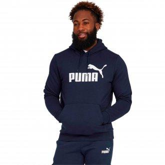 Imagem - Blusão Moletom Puma Essentials Fleece Hoody Masculino cód: 057038