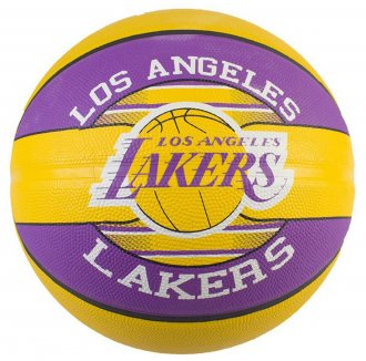 Imagem - Bola Basquete Spalding Los Angeles Lakers cód: 047520