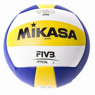 Imagem - Bola Vôlei de Praia Mikasa Vso2000 cód: 047830