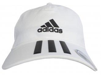 Imagem - Boné Aba Curva Adidas C40 3 Stripes Climalite cód: 048724