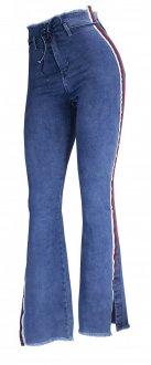 Imagem - Calça Flare Jeans Alto Giro Zouk Blue Feminina - 049516