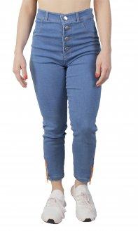 Imagem - Calça Jeans Alto Giro Zouk Blue Ziper Feminina cód: 052231