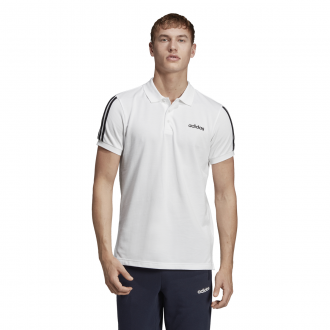 Imagem - Camisa Adidas Polo Piquet 3 Stripes Masculina cód: 057873