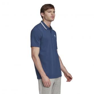 Imagem - Camisa Polo Pique Adidas Masculina cód: 056312