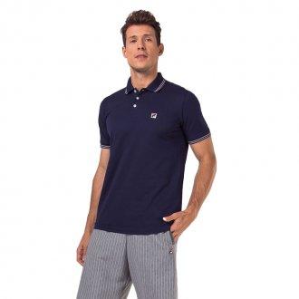 Imagem - Camisa Polo Pique Fila Premium Pima Masculina cód: 057843