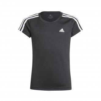 Imagem - Camiseta Adidas 2 Move 3-Stripes Infantil Feminino cód: 060875