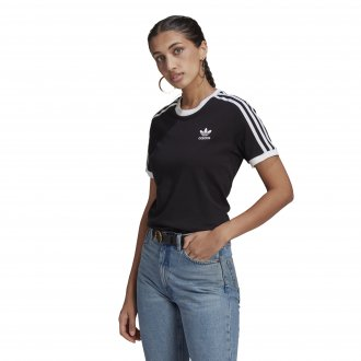 Imagem - Camiseta Adidas Algodão 3 Stripes Feminina cód: 059778