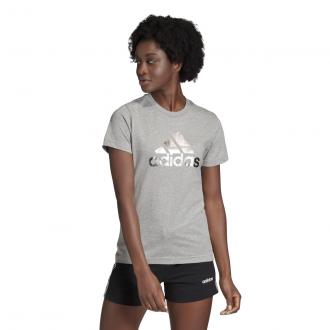 Imagem - Camiseta Adidas Algodão Athletics Feminina cód: 057887