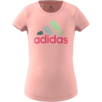 Imagem - Camiseta Adidas Algodão Estampada Infantil cód: 058230