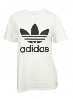 Imagem - Camiseta Adidas Algodão Trefoil Feminina cód: 055541