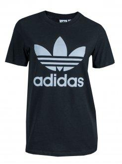 Imagem - Camiseta Adidas Algodão Trefoil Feminina cód: 055745