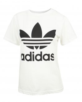 Imagem - Camiseta Adidas Algodão Trefoil J Infantil cód: 055746