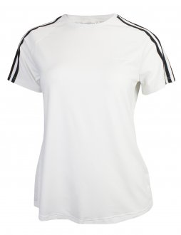 Imagem - Camiseta Adidas Design 2 Move 3 Stripes Feminina cód: 053549