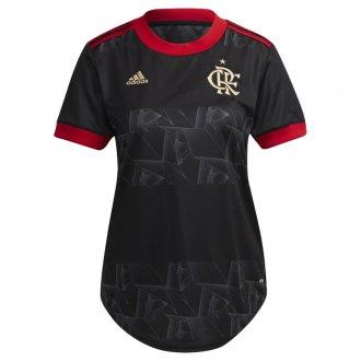 Imagem - Camiseta Adidas Flamengo 3 Feminina cód: 062914