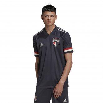 Imagem - Camiseta Adidas Poliéster M São Paulo 3 Masculina cód: 058925