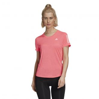 Imagem - Camiseta Adidas Poliéster Own The Run Cooler Feminina cód: 057774
