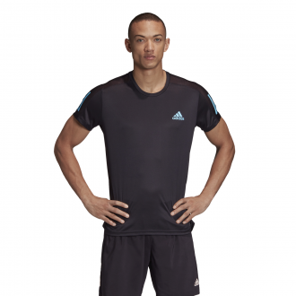 Imagem - Camiseta Adidas Poliéster Own The Run Tee Masculina cód: 057890