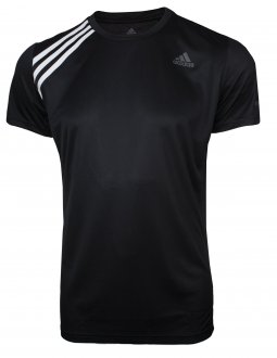 Imagem - Camiseta Adidas Run It 3 Stripes Masculina cód: 055350