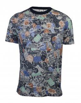 Imagem - Camiseta Adidas Stckerbomb Masculina cód: 051664