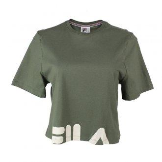 Imagem - Camiseta Algodão Fila Cropped Easy Feminino - 059918