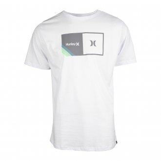 Imagem - Camiseta Hurley Algodão Halfer Stripes Masculina cód: 059967