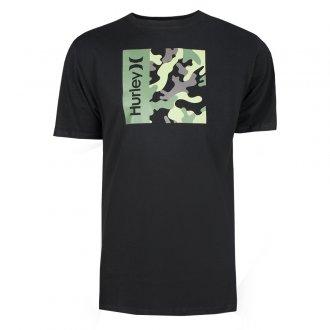 Imagem - Camiseta Algodão Hurley Silk O&O Camo Box Masculina cód: 059295