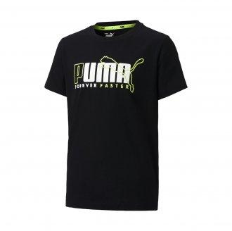 Imagem - Camiseta Algodão Puma Alpha Graphic Infantil cód: 059113