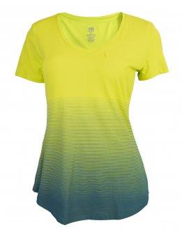 Imagem - Camiseta Alto Giro Skin Fit Degradê Feminina cód: 052804