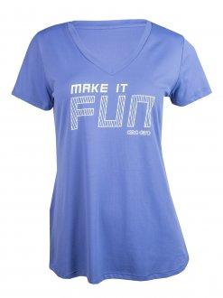 Imagem - Camiseta Alto Giro Skin Fit Fit Make It Fun Feminina cód: 056210