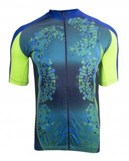 Imagem - Camiseta Ciclista Poker com Zíper Masculina cód: 053398