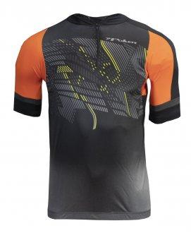 Imagem - Camiseta Ciclista Poker com Zíper Masculina cód: 053399