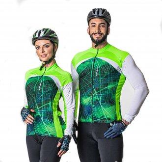 Imagem - Camiseta Ciclista Poker Com Zíper Total cód: 059841