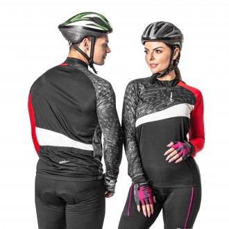 Imagem - Camiseta Ciclista Poker com zíper X-Ray  cód: 059820