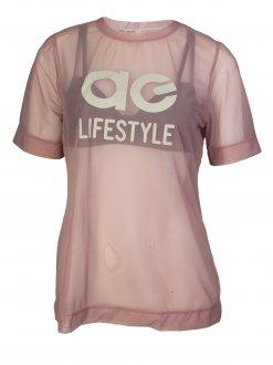 Imagem - Camiseta Algo Giro Tule Light Feminina cód: 049290
