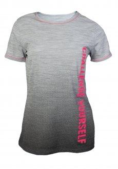 Imagem - Camiseta Alto Giro Skin Fit Rajado Degrade Crs Feminina cód: 049322