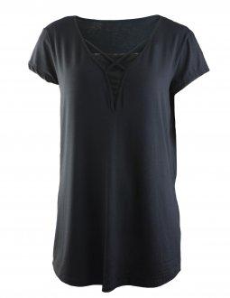 Imagem - Camiseta Rola Moça Longline Feminina cód: 049217