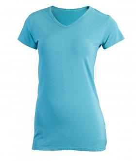 Imagem - Camiseta Feminina Rola Moça Viscose Alongada cód: 050216