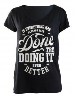 Imagem - Camiseta Rola Moça Viscose Feminina cód: 049228