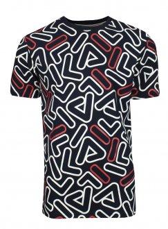 Imagem - Camiseta Fila Algodão Shuffle Logo Masculina cód: 057835