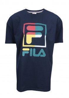 Imagem - Camiseta Fila Algodão Stack New Masculina cód: 056798